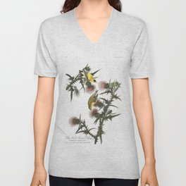 Goldfinch And Thistle Unisex V-Neck