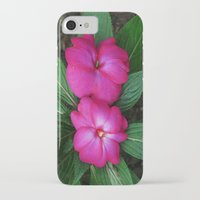 hot pink iPhone & iPod Cases featuring Hot Hot Pink by Nevermind the Camera