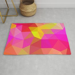 Citrus Candy Low Poly Rug