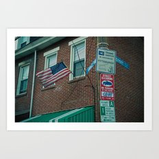 Neighborhood Watch Art Print