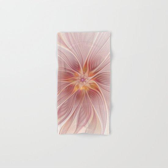 Soft Summer Dream, Fantasy Flower Hand & Bath Towel