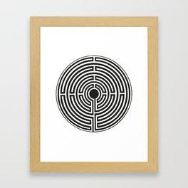 Maze 2 Framed Art Print
