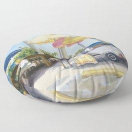 Lonesome Paradise Floor Pillow