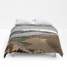 Cass Bay, New Zealand Comforters