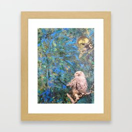 Once Upon a Night Framed Art Print