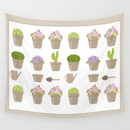 A wonderful design for those who are fond of plants , flowers . Wall Tapestry