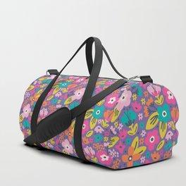 Floral Brights Duffle Bag
