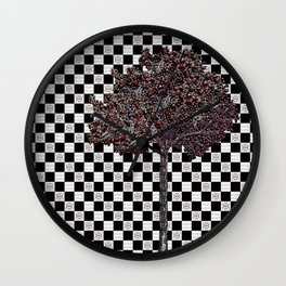 Fruitful tree Wall Clock