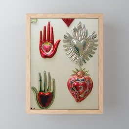 Don't Stop...In The Name Of Love Framed Mini Art Print