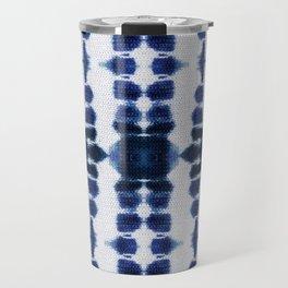 Boho Tie-Dye Knit Vertical Travel Mug