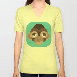 Cheeky Monkey Unisex V-Neck