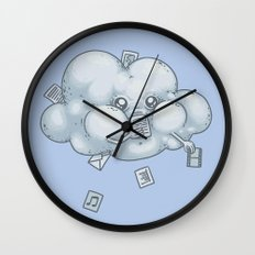 Cloud Storage Wall Clock