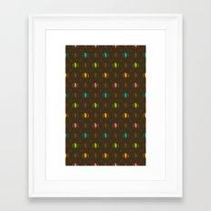 Fudge Color Framed Art Print