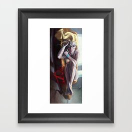 Decisions of Young Freedom Framed Art Print