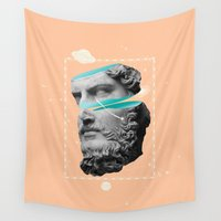 mythology Wall Tapestries featuring Mythology by Enrique Larios