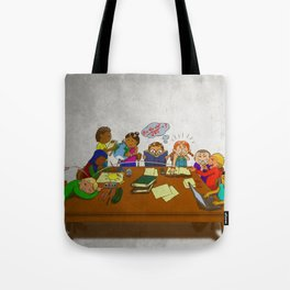 Stack of Books Kids Tote Bag