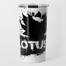 Black Lotus Travel Mug