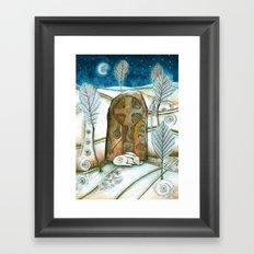 Winter Warmth Framed Art Print
