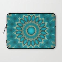 Turquoise Jewels Laptop Sleeve