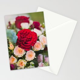RICH FLORALS I Stationery Cards