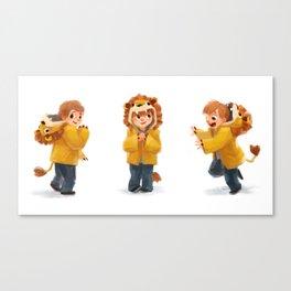 Beckam Lion Canvas Print