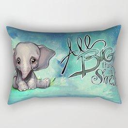 All Big Things Rectangular Pillow