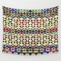 geo Wall Tapestries featuring GEO by Klara Acel