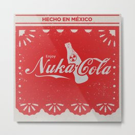 An Ice Cold Nuka Cola - Fallout Universe Metal Print