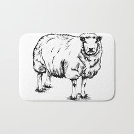 Sheep Sheep. Bath Mat