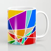 cracked Mugs featuring Cracked by MarkStantonDesign