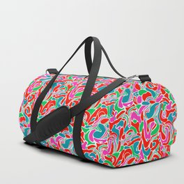 Abstract Marble I Duffle Bag