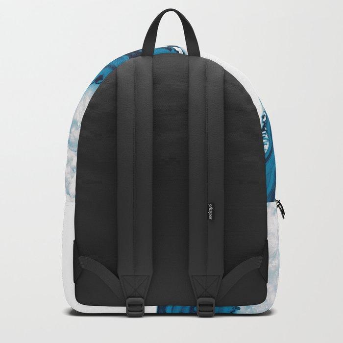 Blue Agate #2 #gem #decor #art #society6 Backpack