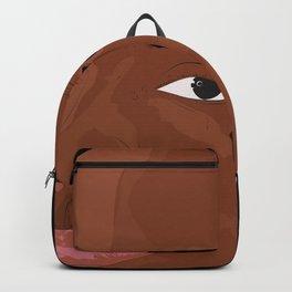 Hood Rich Rapper Illustration Backpack