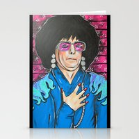 snl Stationery Cards featuring SNL Mike Meyers as Linda Richman by Portraits on the Periphery