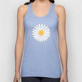Spring Daisies_Blue Sky Unisex Tank Top