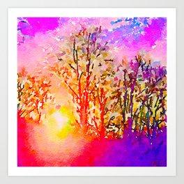 Dawn in Me Art Print
