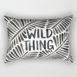 Wild Thing – Black Palette Rectangular Pillow