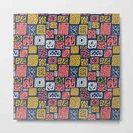 UnLimited Boxes- Living Coral Pantone 2019 Metal Print