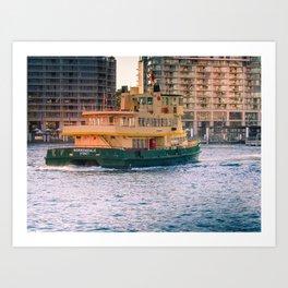 Borrowdale Sydney Art Print