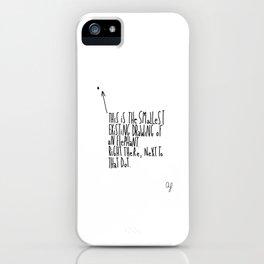 Smallest Elephant iPhone Case