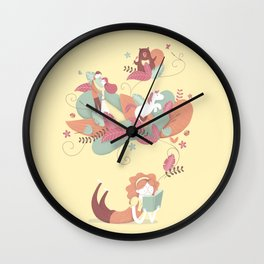the power of reading Wall Clock
