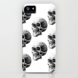 Skull pattern 2 iPhone Case