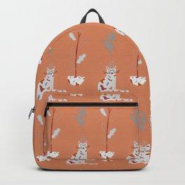 I am fuckin' grumpy. Backpack