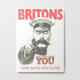 Your Country Needs You - Digital Metal Print
