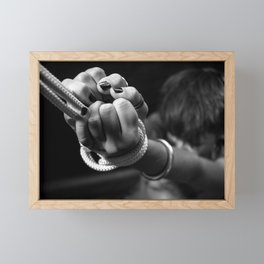 Bondage Framed Mini Art Print