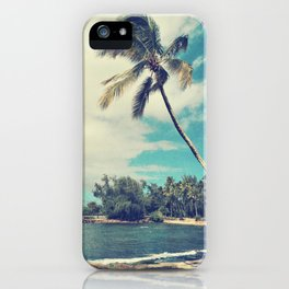 Vintage Tropics iPhone Case