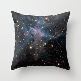 Mystic Mountain Nebula Throw Pillow