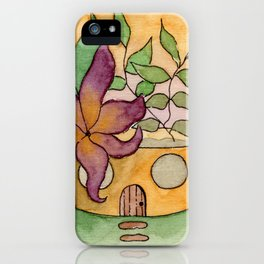 In The Garden: August iPhone Case