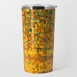 Abstract Klimt Travel Mug