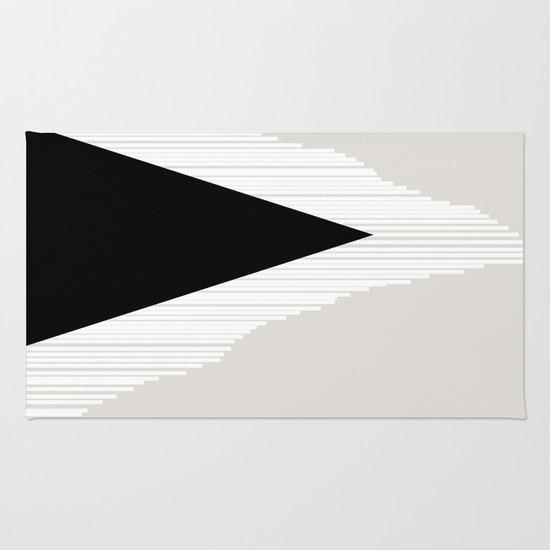 Abstract Mountain Rug